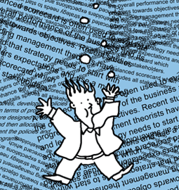Employee drowning in information