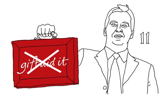 George Osborne cartoon