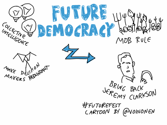 What does future democracy look like