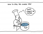 change without purpose cartoon