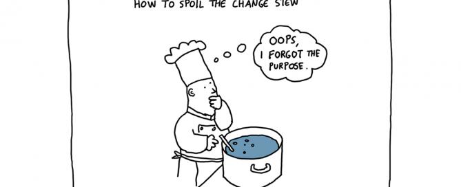 change without purpose cartoon