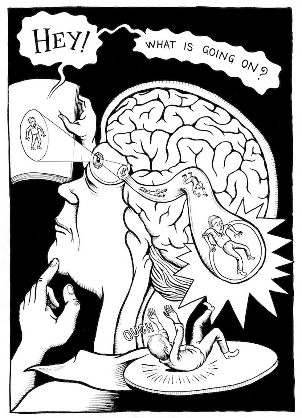 Neurocomic brain - Businessillustrator.com