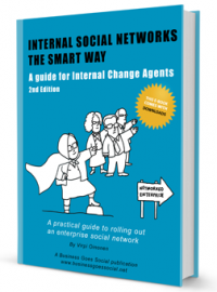 Internal Social Networks The Smart Way book cover