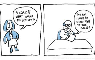 CEO cartoon