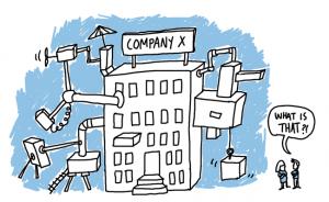 Corporation cartoon