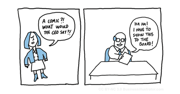 ceo cartoon