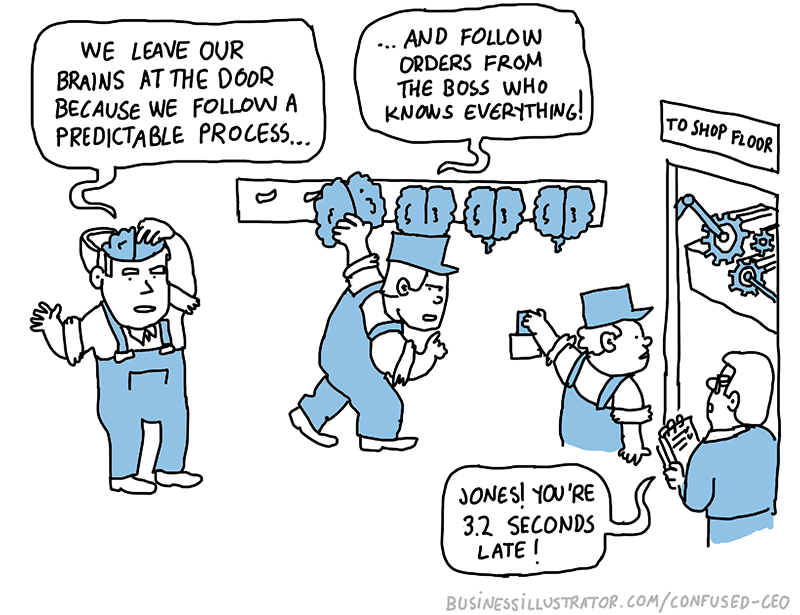 Taylorism cartoon