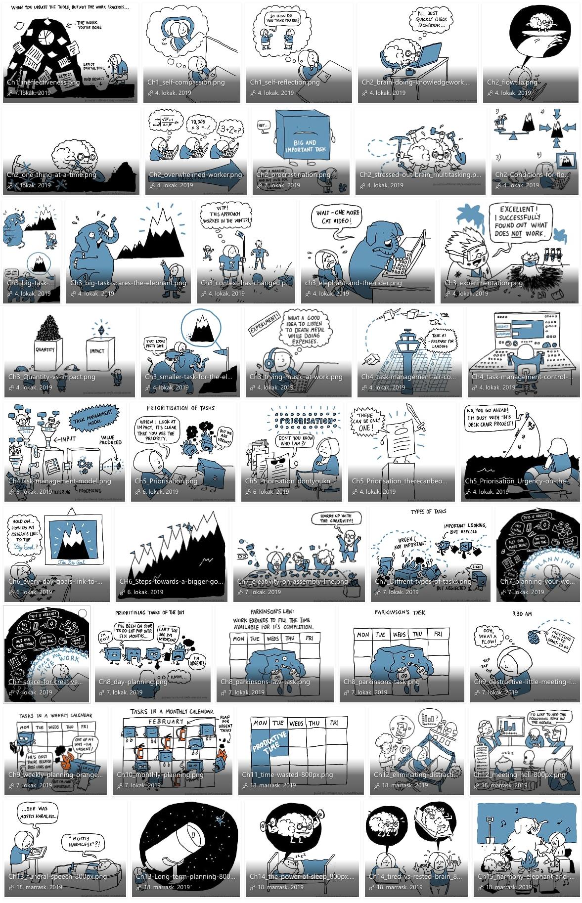 knowledge cartoons mini thumbnails