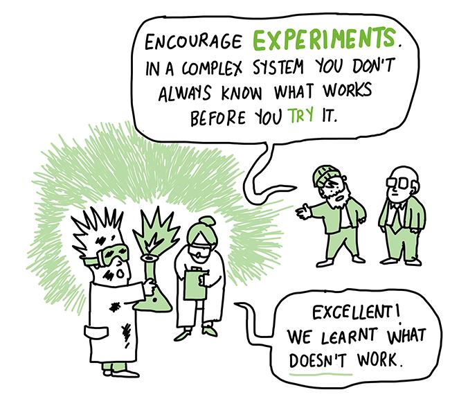 Reward experimentation cartoon